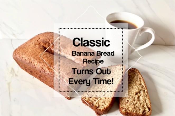 Banana Bread Blog Title