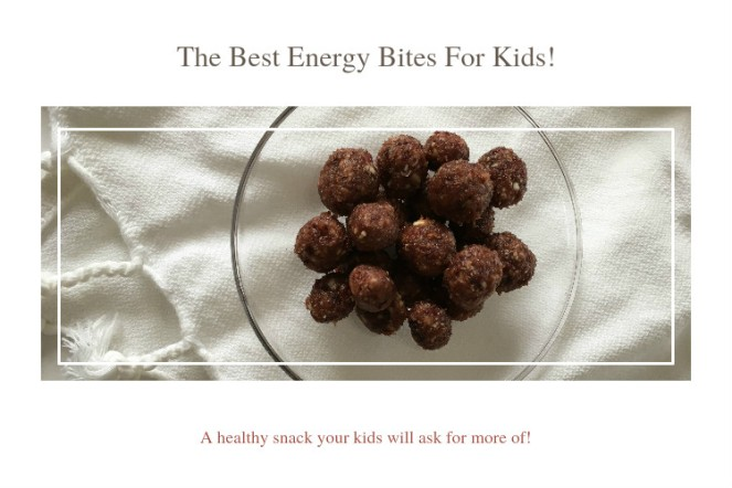 The best Energy Bites For Kids